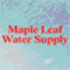 Maple Leaf Water Supply - Logo