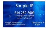 Voir le profil de Simple IP inc. - Crabtree