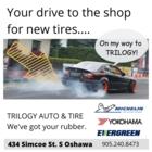 Trilogy Auto & Tire - Tire Retailers - 905-240-8473