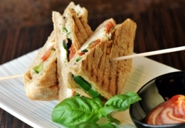 Where to find savoury sandwiches in Riverdale Toronto