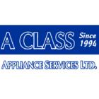 A Class Appliance Services Ltd - Logo