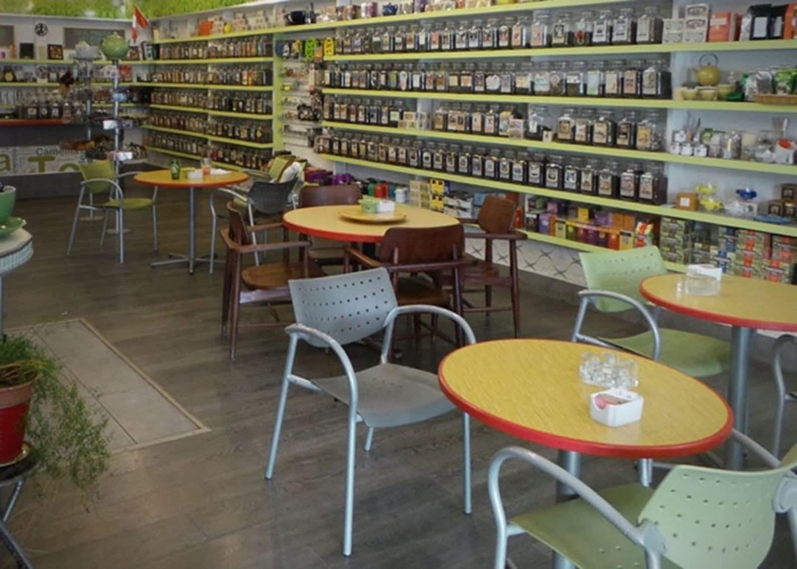 ab115de91 Tea Store - Menu