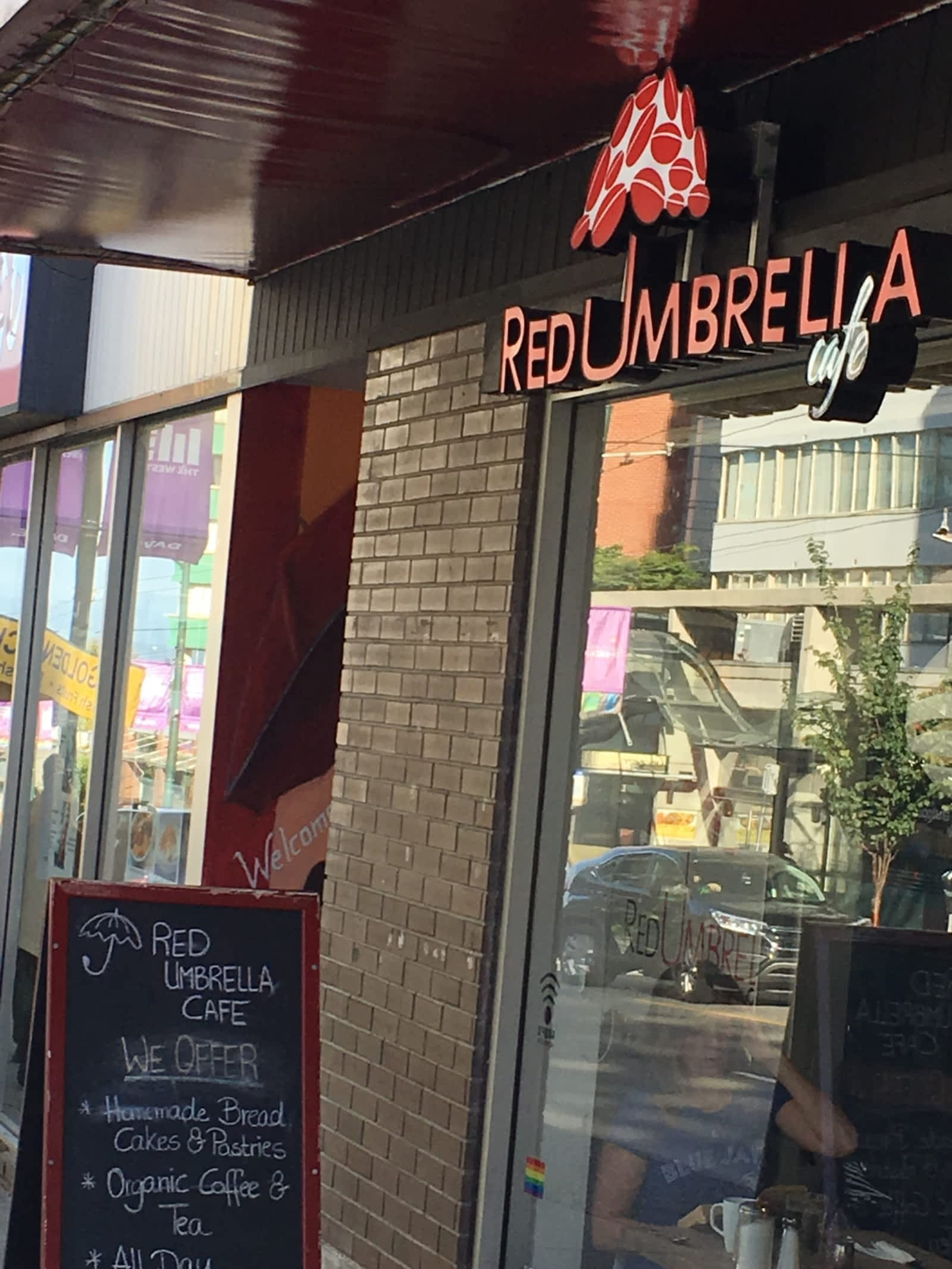 red umbrella cafe vancouver's west end