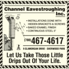 Channel Eavestroughing Inc - Eavestroughing & Gutters