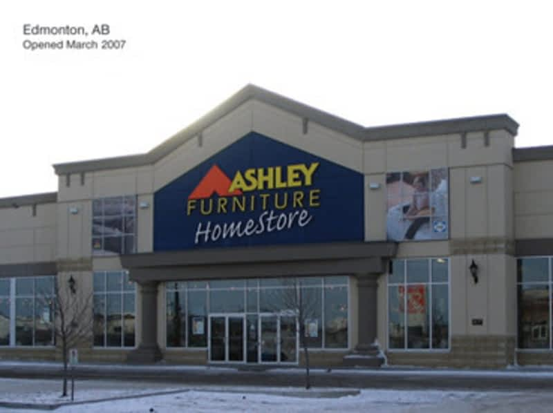 Ashley homestore edmonton ab 1430 99 street nw canpages for Ashley furniture montreal