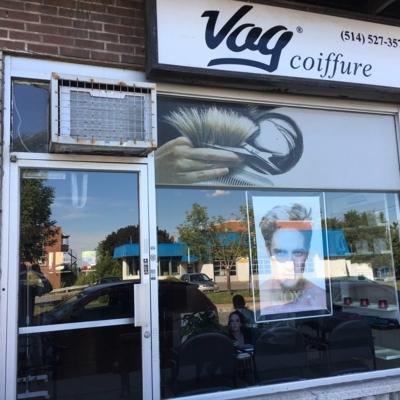Vag Coiffure - Salons de coiffure et de beauté - 514-527-3575