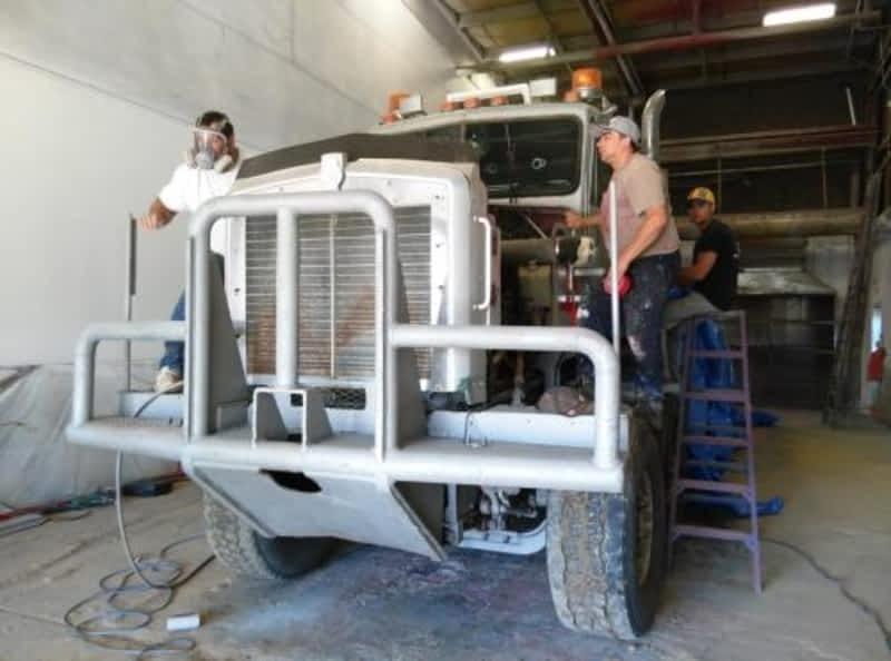Overhead Cranes Nisku : Priority sandblasting coatings inc nisku ab