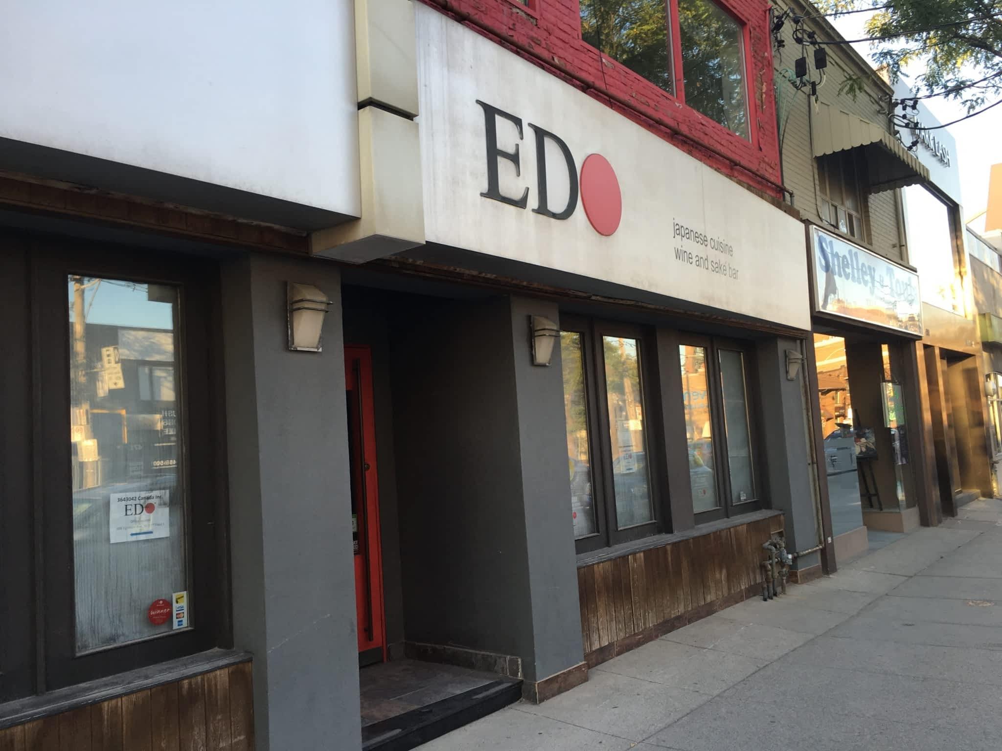 photo EDO on Eglinton