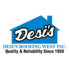 Desi's Roofing West Inc. - Logo