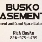 Busko Basements - Waterproofing Contractors - 226-975-4795