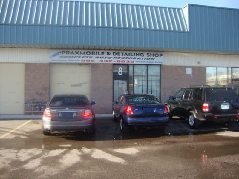 Praxmobile Amp Detailing Shop Whitby On 2020 Wentworth