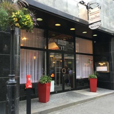 Quattro Ristorante - Restaurants végétariens - 514-903-2909