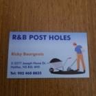 R&B Post Holes - Post Hole Diggers