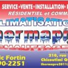 Climatisation Thermapro - Entrepreneurs en chauffage - 418-290-2251