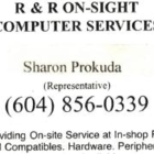 R & R Onsight Computer Services - Computer Repair & Cleaning