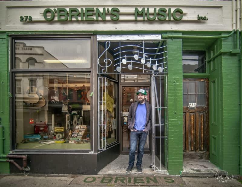 photo O'Brien's Music Inc