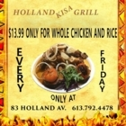 Holland Kisa Grill - Rotisseries & Chicken Restaurants - 613-792-4478