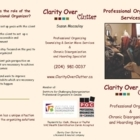 Clarity Over Clutter - Moving Services & Storage Facilities