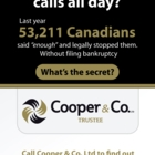 Cooper & Company Ltd-Trustees In Bankruptcy - Financial Planning Consultants - 416-665-3383