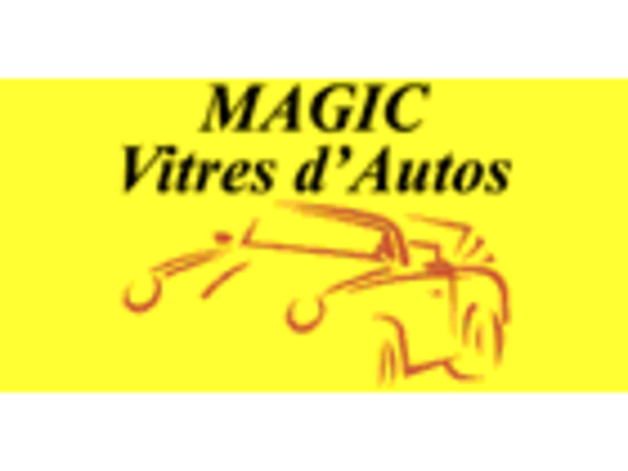 photo Magic Vitres D'Autos