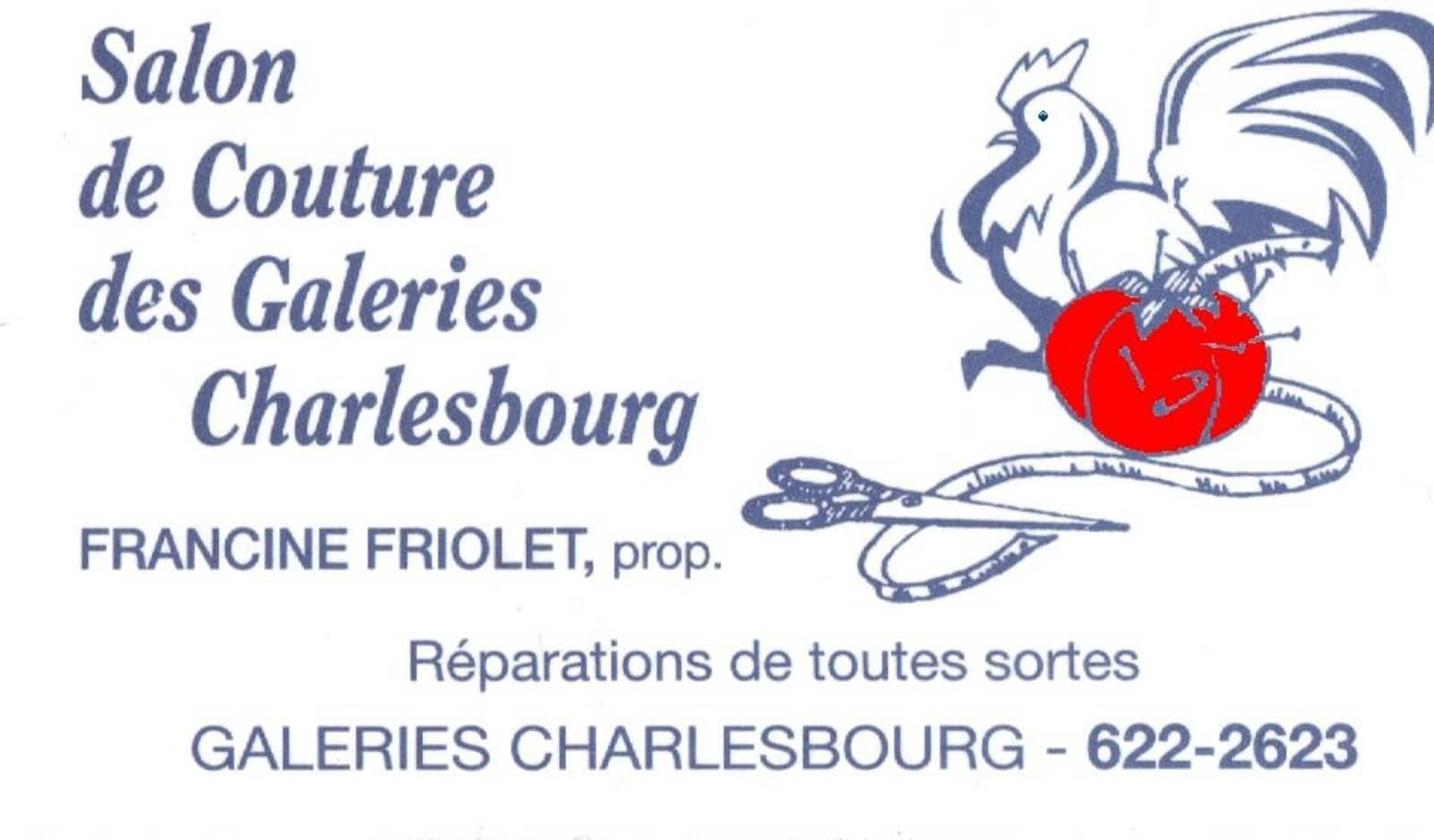 Salon De Couture Des Galeries Charlesbourg Opening Hours