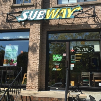 Subway - Restaurants - 514-807-3915