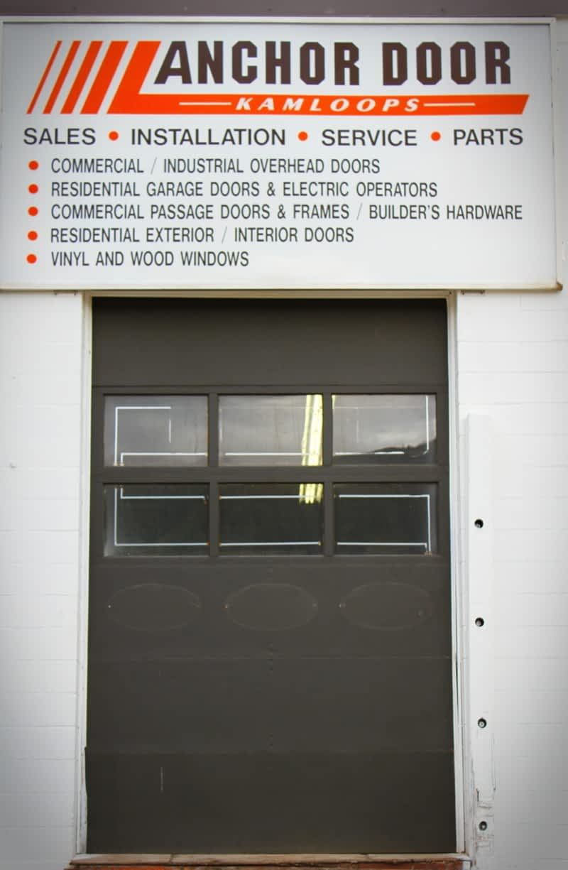 Anchor Door Services - Kamloops, BC - 1520 Lorne St | Canpages