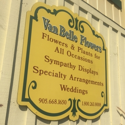 View Van Belle Floral And Plant Shoppes's Pickering profile