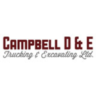 Campbell D & E Trucking & Excavating Ltd - Logo