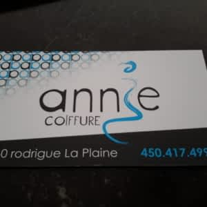 Annie Coiffure Opening Hours 6160 Rue Rodrigue Terrebonne Qc