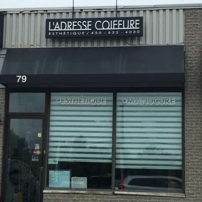 L'Adresse Coiffure - Hairdressers & Beauty Salons - 450-632-4030