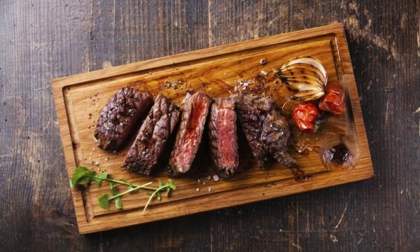 Succulent steaks in Edmonton