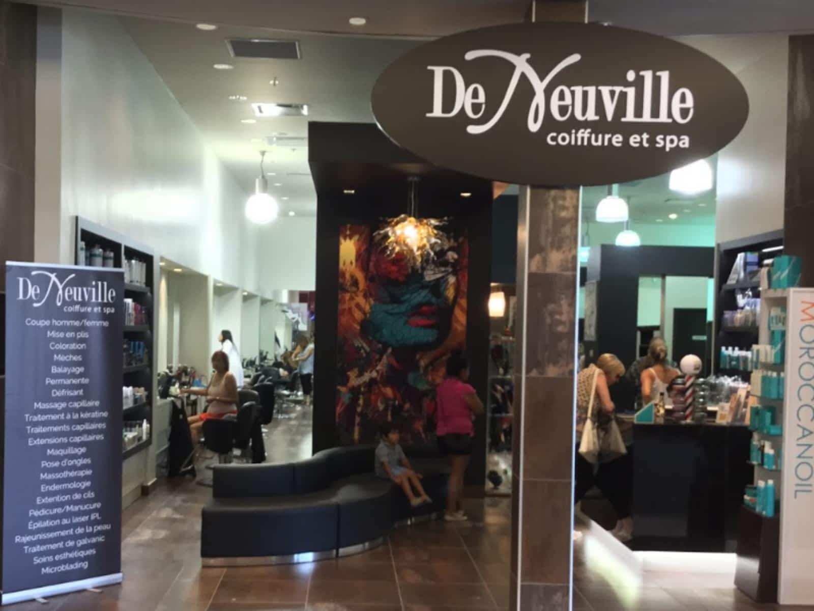 De Neuville Coiffure Et Spa Inc - Horaire d\'ouverture - 2151 ...