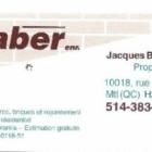 Jacques Bernard - Maçons et entrepreneurs en briquetage