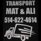transport Mat & Ali - Moving Services & Storage Facilities