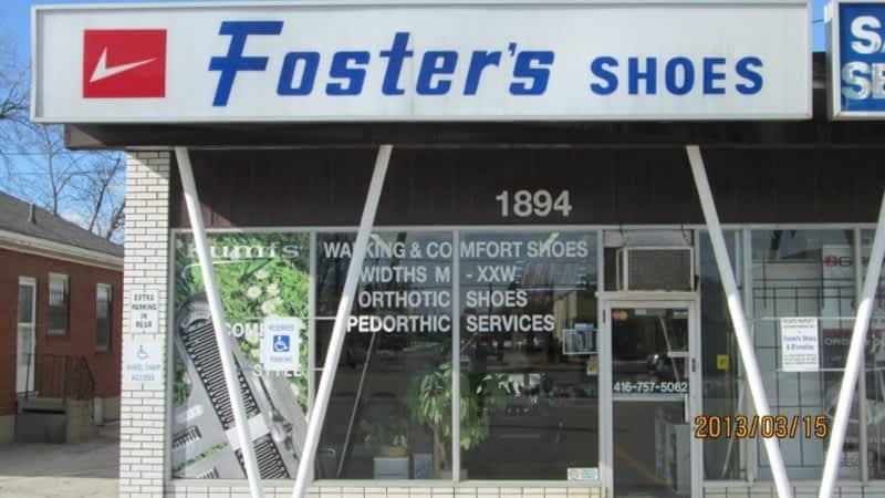 Foster S Shoes Saskatoon