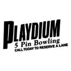 Playdium 5 Pin Lanes - Logo