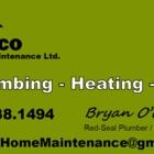 Broco Home Maintenance Ltd - Plombiers et entrepreneurs en plomberie - 250-938-1494