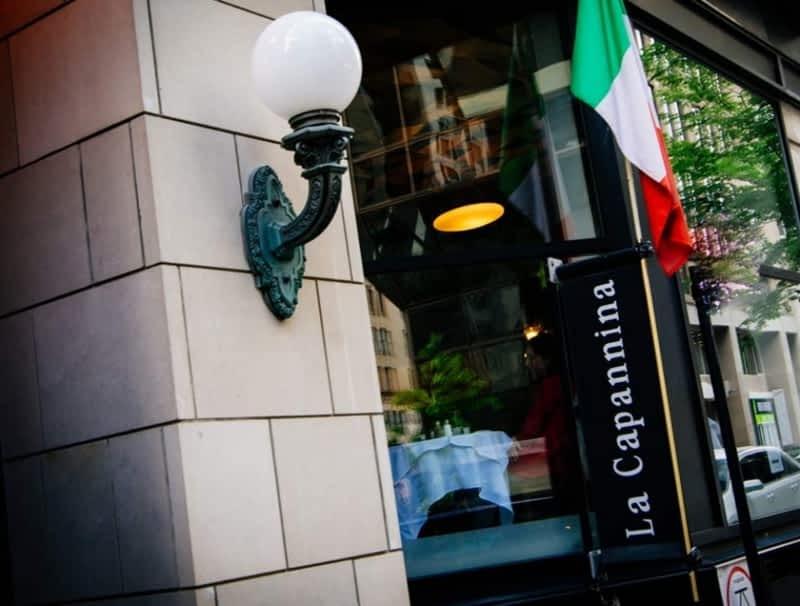 Restaurant La Capannina Montreal