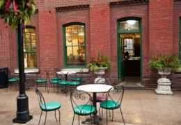 Best patios in the Distillery District