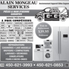 Voir le profil de Alain Mongeau Services (Anciennement Gilles Gagnon Services) - Chomedey