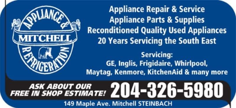 Mitchell Appliance Amp Refrigeration Mitchell Mb 149