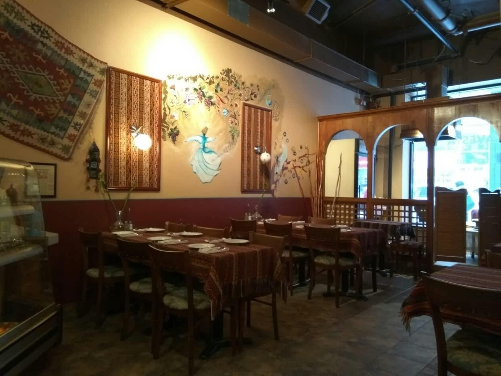 Avesta Restaurant Menu