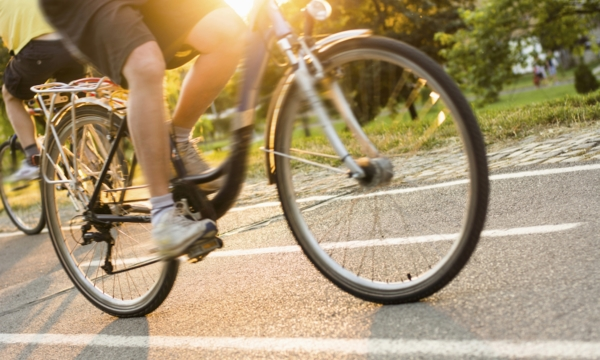 Calgary cycling pathway pit stops