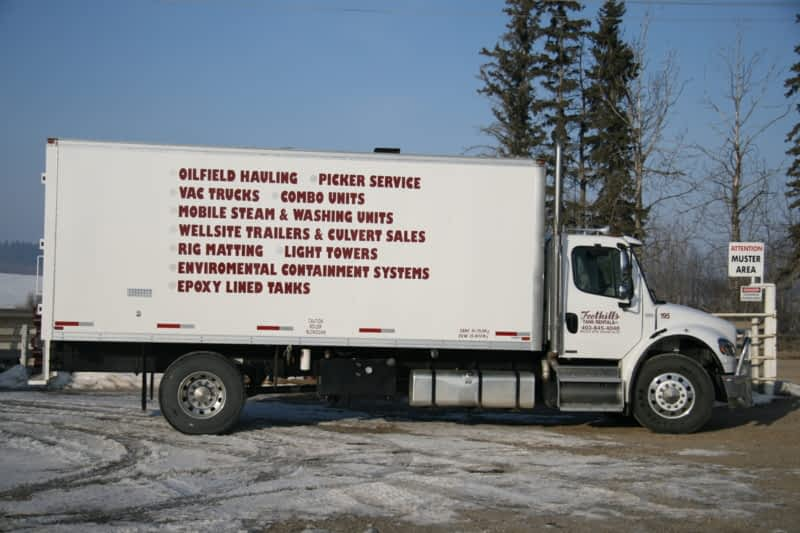 Foothills Tank Rentals Ltd Rocky Mountain House Ab
