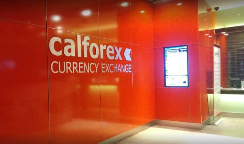 Calforex currency exchange-southgate centre