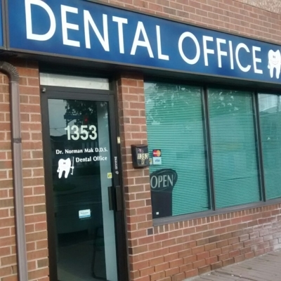 Mak Norman Dental Office - Dentistes - 416-425-5144