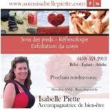 Voir le profil de Isabelle Piette/Massothérapeuthe - Sutton