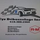 Cyr Débosselage - Réparation de carrosserie et peinture automobile - 418-388-2966