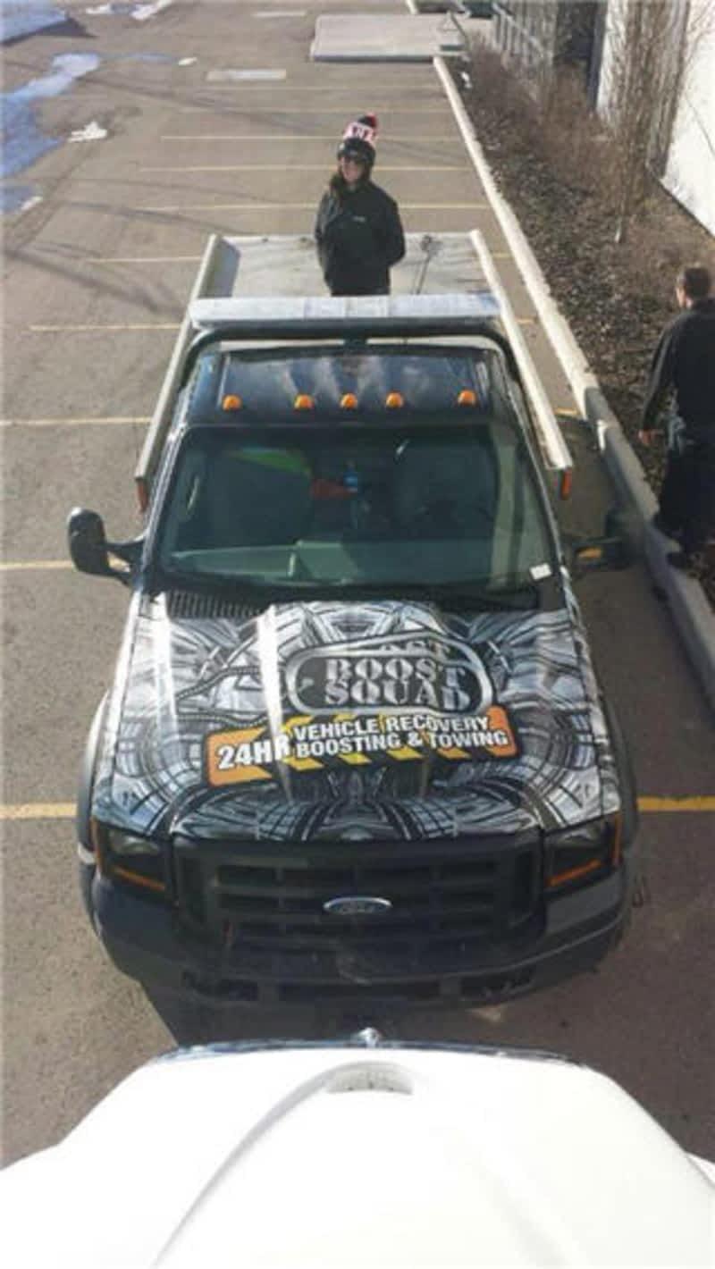 Tow Truck Saskatoon >> Boost Squad / Tows R Us - Calgary, AB - PO Box 38065 Rpo ...